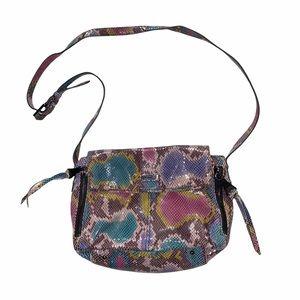 Aimee Kestenberg Snake Skin Colorful Gloss Bag